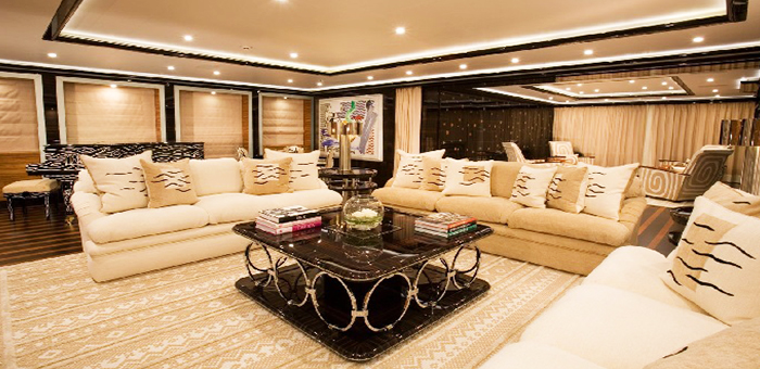 YACHT FURNITURE DESIGN FOR LUXURY INTERIOR