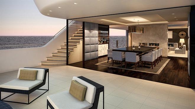 A luxury yacht interior by lawson robb studio 3 a luxury yacht interior by lawson robb
