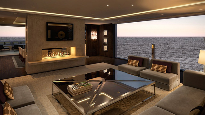 A Luxury Yacht Interior By Lawson Robb Studio Luxury Yachts