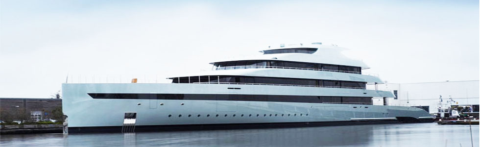 Feadship launched the World's Largest Hybrid Yacht: Savannah