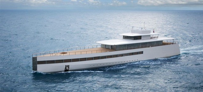 Steve Jobs' Super Yacht Steve Jobs Luxury Yacht 660x300