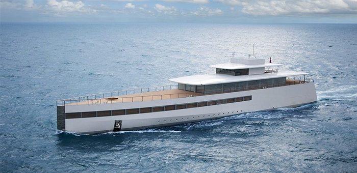 Steve Jobs' Super Yacht