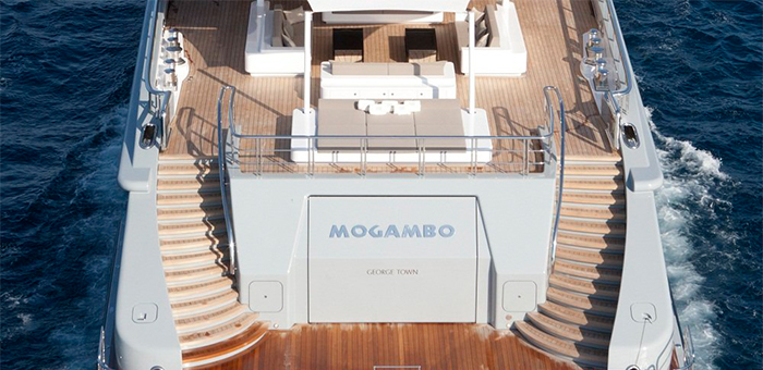 The outstanding interior design of the Mogambo Super Yacht  The outstanding interior design of the Mogambo Super Yacht The outstanding interior design of the Mogambo Super Yacht