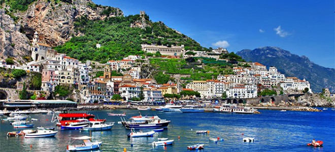 Luxury Yacht Vacation: Italy's Shore Luxury Yacht Vacation Amalfi Coast and Sicily 660x300