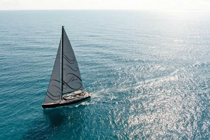 Luxury Yacht of the week:  The Admiral Sail Gigreca