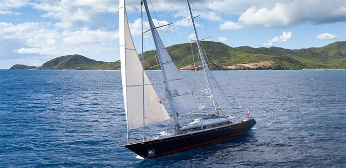 Meet the sailing superyacht Victoria