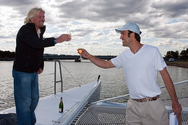 Richard Branson on How to Rename a Boat 2  Richard Branson on How to Rename a Boat Richard Branson on How to Rename a Boat 2