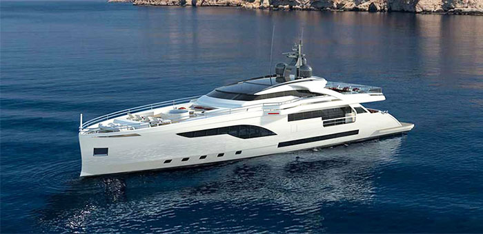Wider 125, the best superyacht revealed at Miami 2015