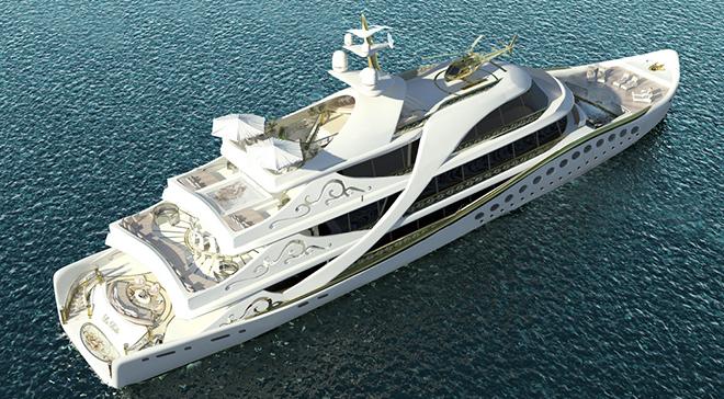 Yacht Concept La Belle, The Superyacht for Ladies 6