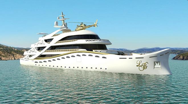 Yacht Concept La Belle, The Superyacht for Ladies 7