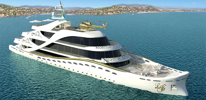 "Yacht Concept: ""La Belle"", The Superyacht for Ladies  Yacht Concept: ""La Belle"", The Superyacht for Ladies Yacht Concept La Belle The Superyacht for Ladies"