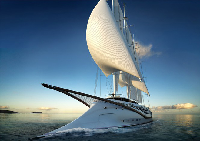 Yacht Concept The splendid Phoenicia Sailing Yacht 4  Yacht Concept: The splendid Phoenicia Sailing Yacht Yacht Concept The splendid Phoenicia Sailing Yacht 4
