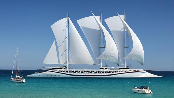 Yacht Concept: The splendid Phoenicia Sailing Yacht  Yacht Concept: The splendid Phoenicia Sailing Yacht Yacht Concept The splendid Phoenicia Sailing Yacht