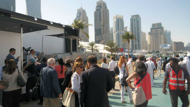 Dubai International Boat Show Kicks off 2