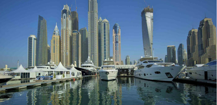 Dubai International Boat Show Kicks off