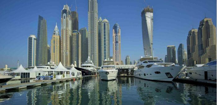 Dubai International Boat Show Kicks off
