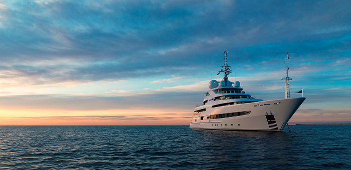 Go Island-hopping on a superyacht