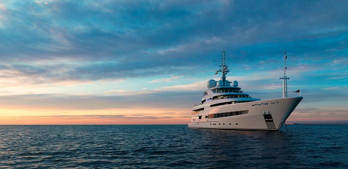 Go Island-hopping on a superyacht
