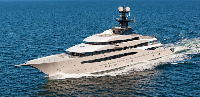 Luxury Yacht of the Week: Kismet Luxury Yacht of the Week Kismet