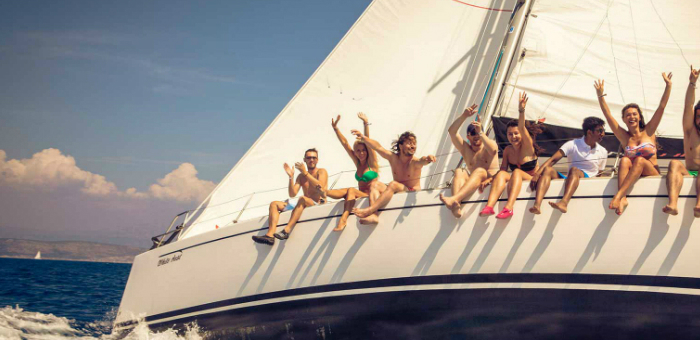 What about a party in Ibiza on a superyacht?