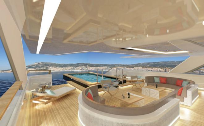 Yacht Concept Blade by Jonny Horsfield 1  Yacht Concept: Blade by Jonny Horsfield Yacht Concept Blade by Jonny Horsfield 1
