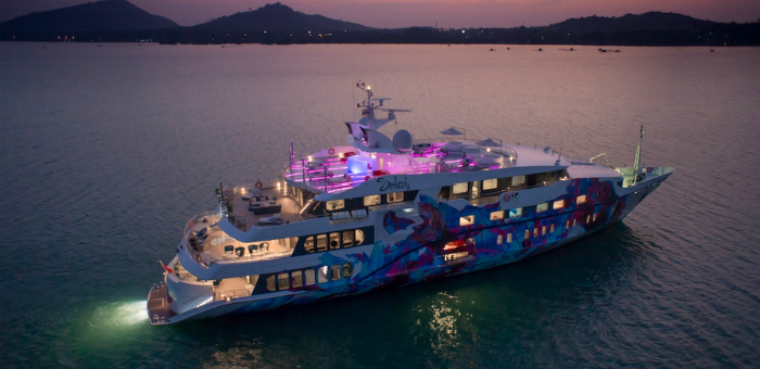2015 Singapore Yacht Show: The Superyacht Saluzi