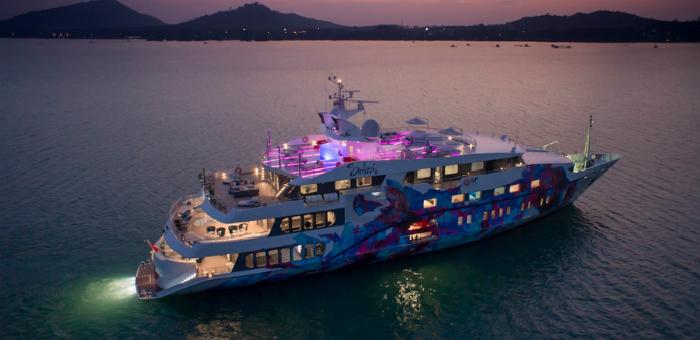 2015 Singapore Yacht Show: The Superyacht Saluzi