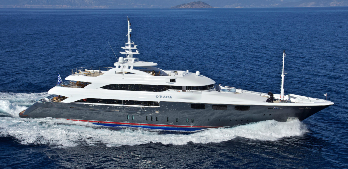 Luxury Yacht of the week: O'Rama