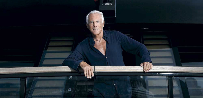 Interview: Armani on Board of his Superyacht Main  Interview: Armani on Board of his Superyacht Main Interview Armani on Board of his Superyacht Main
