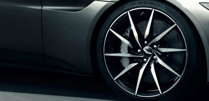 Jaw Dropping: James Bond new Aston Martin