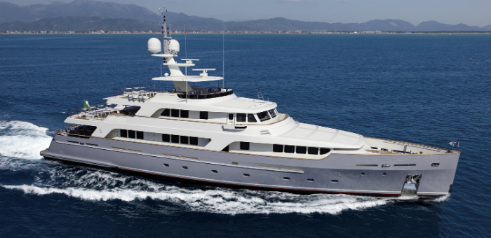 Luxury Yacht of the Week: Codecasa's Vintage Motor Yacht