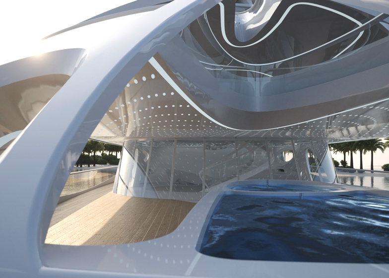 Yacht Concept Zaha Hadid's Jazz Superyacht 10  Yacht Concept: Zaha Hadid's Jazz Superyacht Yacht Concept Zaha Hadids Jazz Superyacht 10
