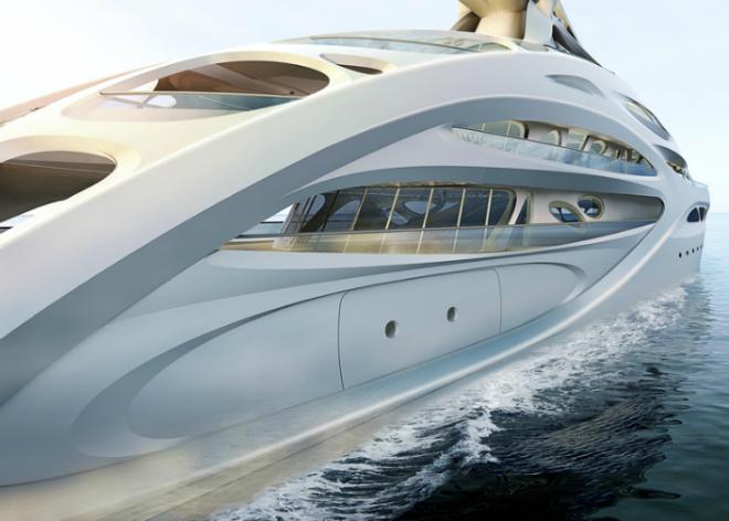 Yacht Concept Zaha Hadid's Jazz Superyacht 2  Yacht Concept: Zaha Hadid's Jazz Superyacht Yacht Concept Zaha Hadids Jazz Superyacht 2