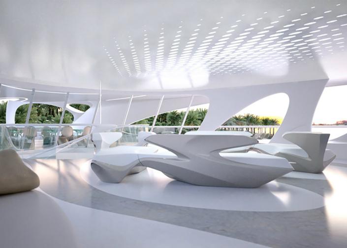 Yacht Concept Zaha Hadid's Jazz Superyacht 9  Yacht Concept: Zaha Hadid's Jazz Superyacht Yacht Concept Zaha Hadids Jazz Superyacht 9