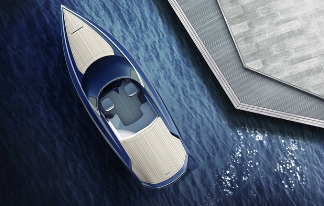 Aston Martin and Quintessence Yachts  unveil the AM37 4  Aston Martin and Quintessence Yachts unveil the AM37 Aston Martin and Quintessence Yachts unveil the AM37 4