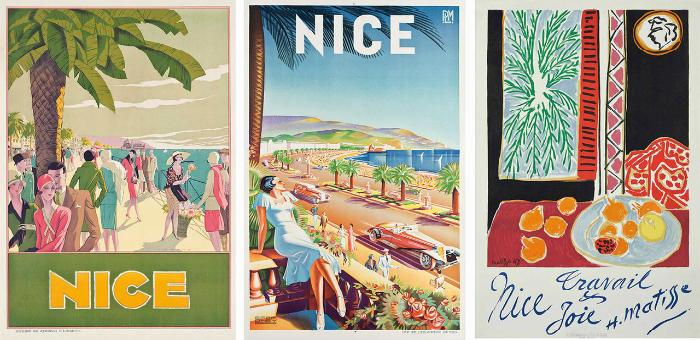 Luxury yacht destination: 6 vintage Mediterranean posters