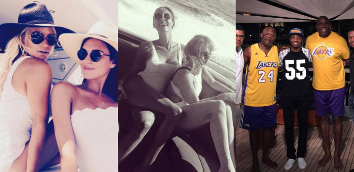 From Jennifer Lawrence to Kim Kardashian: 9 celebrities on Luxury Yachts