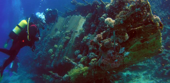 Top 10 Shipwreck dives