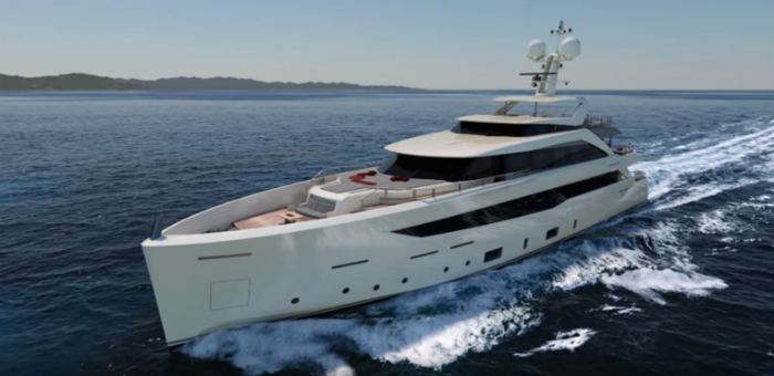 New Mondomarine superyacht premiere at Monaco Yacht Show 2015