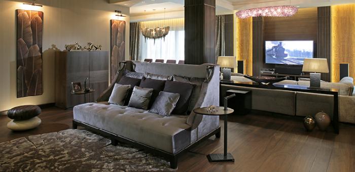 Promemoria exhibiting luxury furniture at Monaco Yacht Show 2015