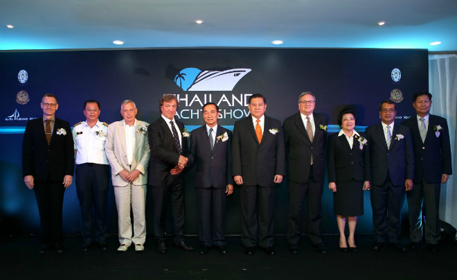 Thailand Yacht Show officially launched 2