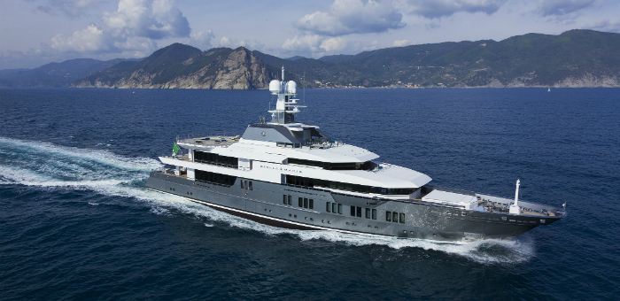The 5 Largest Superyachts at Monaco Yacht Show 2015