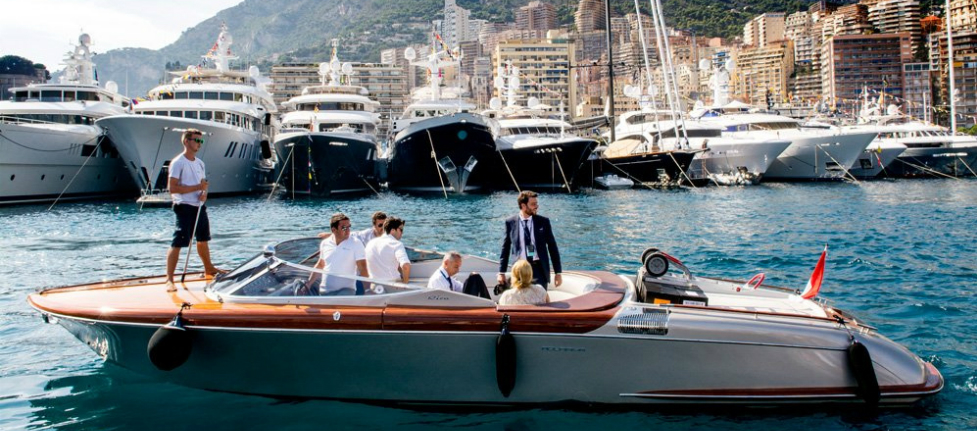 Worth Avenue Yachts exhibition at Monaco Yacht Show 2015