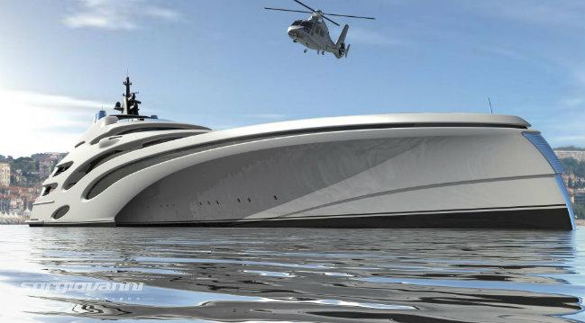 3 luxury superyacht A Trimaran design for a new Luxury Superyacht 3