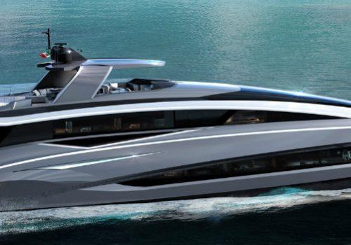 Take a Glimpse at The Tecnomar EVO 115 by Italian Sea Group