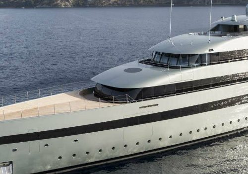 Luxury Yachts Presents the Luxurious 96m Vertigo by Feadships