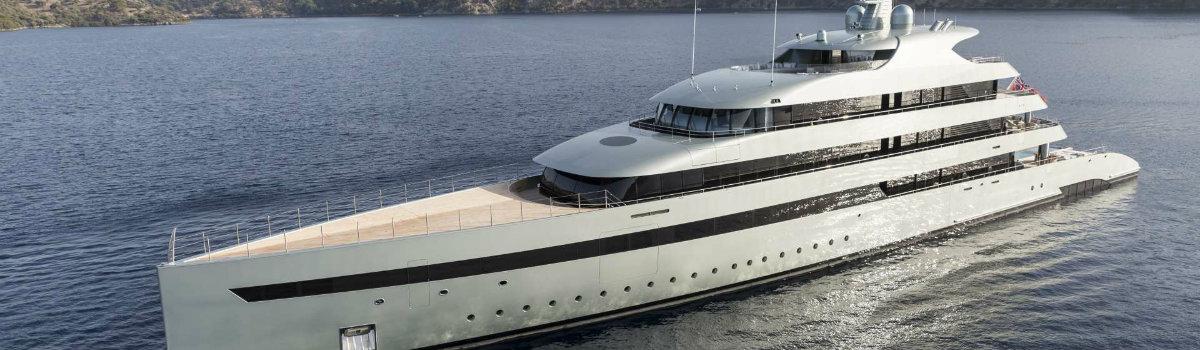 Luxury Yachts Presents the Luxurious 96m Vertigo by Feadships