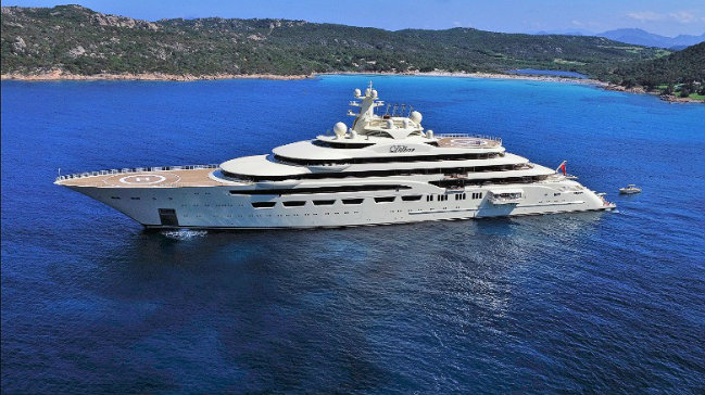 dilbar-superyacht largest superyachts Be Amazed by the World's Largest Superyachts dilbar superyacht