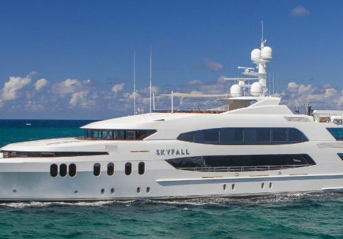 Luxury Yacht Interiors –  Meet the Spectacular Skyfall Superyacht