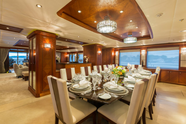 skyfall-superyacht-5 yacht interiors Have a look at 50 of the greatest yacht interiors – Part 2 skyfall superyacht 5 1